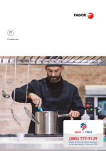 Fagor Commercial Refrigeration Product Catalog