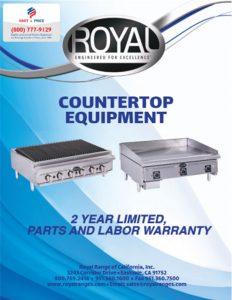 Royal Countertop Equipment